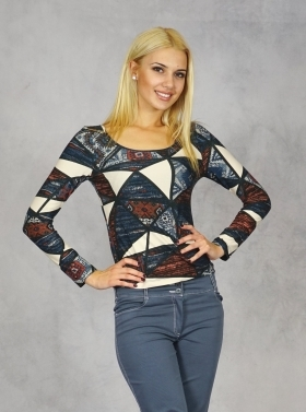 Ladies blouse 10745