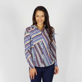 Women's Colorful Cotton Shirt 30251